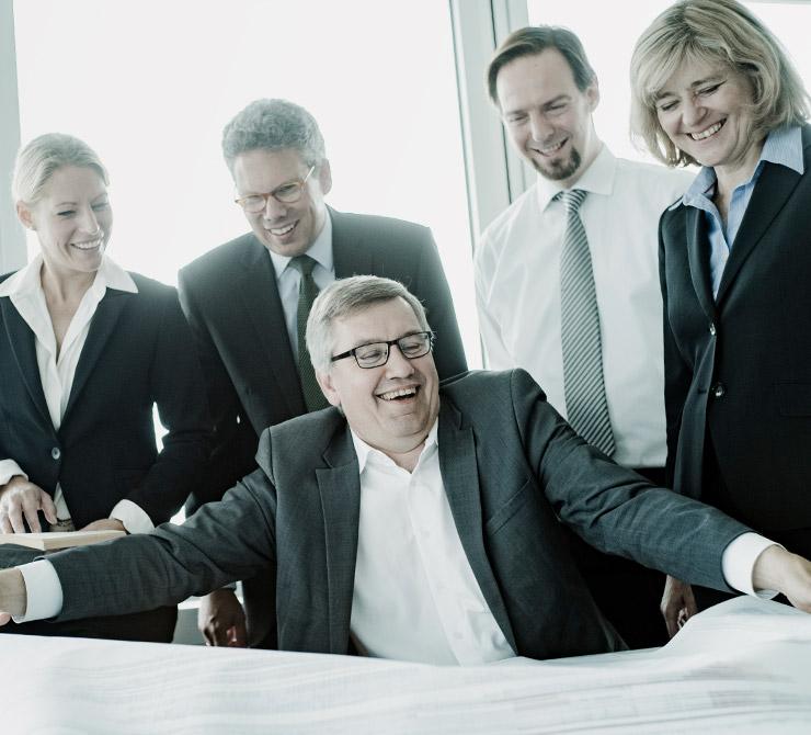 Team der Rechtsanwaltskanzlei BÖRGERS, Fachwanwälte für Baurecht, Architektenrecht, Immobilienrecht, Vergaberecht, Grundstücksrecht und Mietrecht - Berlin, Hamburg, Stuttgart